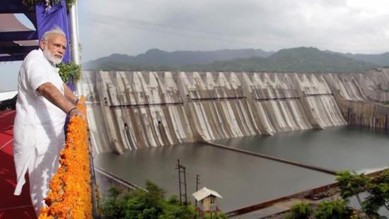 Image result for સરદાર સરોવર બંધ દેશને સમર્પિત