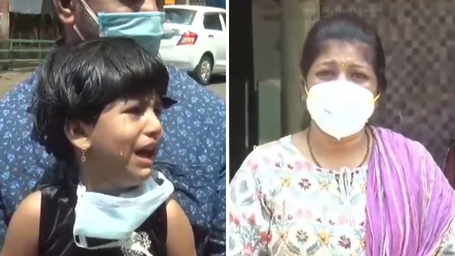 Video: કોરોના દર્દીઓની સારવાર કરતી નર્સને મળવા આવી દીકરી, સર્જાયા ભાવુક દૃશ્ય
