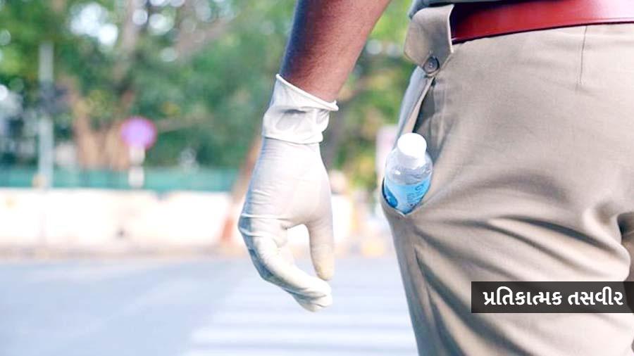 અમદાવાદમાં પોલીસકર્મીમાં કોરોનાના શંકાસ્પદ લક્ષણો દેખાતા આઇસોલેટ કરાયો