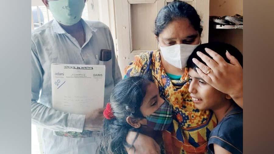 80 ટકા ફેફસાં બ્લોક થયા છતા 25 દિવસે દીપલબેને કોરોનાને ભગાવ્યો