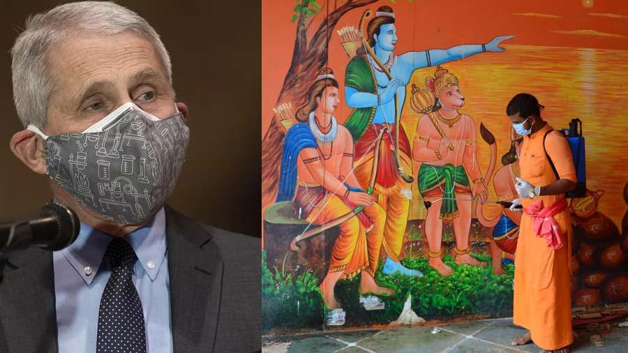 ભારતે ખોટી ધારણા બનાવી કે કોરોના સમાપ્ત થઇ ગયો અને દેશ ખોલી નાખ્યોઃ ડૉ. ફાઉચી
