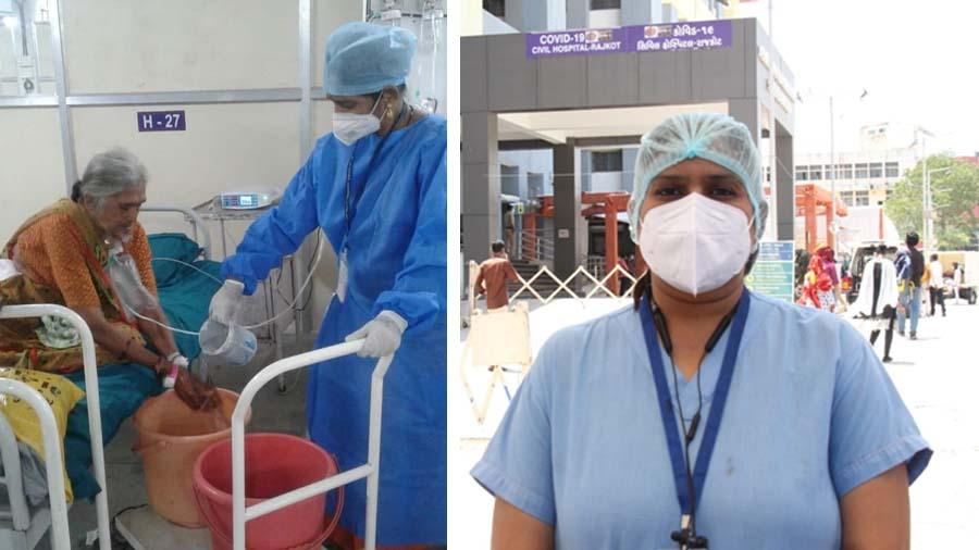 સુરતમાં 5,000 નર્સિંગ કોરોના ફ્રન્ટલાઈન યોદ્ધાઓ રજા લીધા વિના ફરજ નિભાવે છે