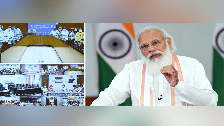 નિખાલસતા અને દબાણની ગેરહાજરી નવી શિક્ષણ નીતિની મહત્વની વિશેષતાઓ: PM